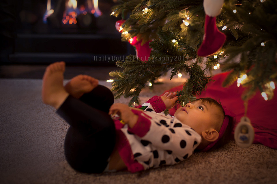 At Home Christmas Sessions | Holly Butler Photography