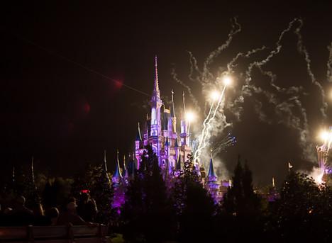 Disney World! | Fireworks at Magic Kingdom