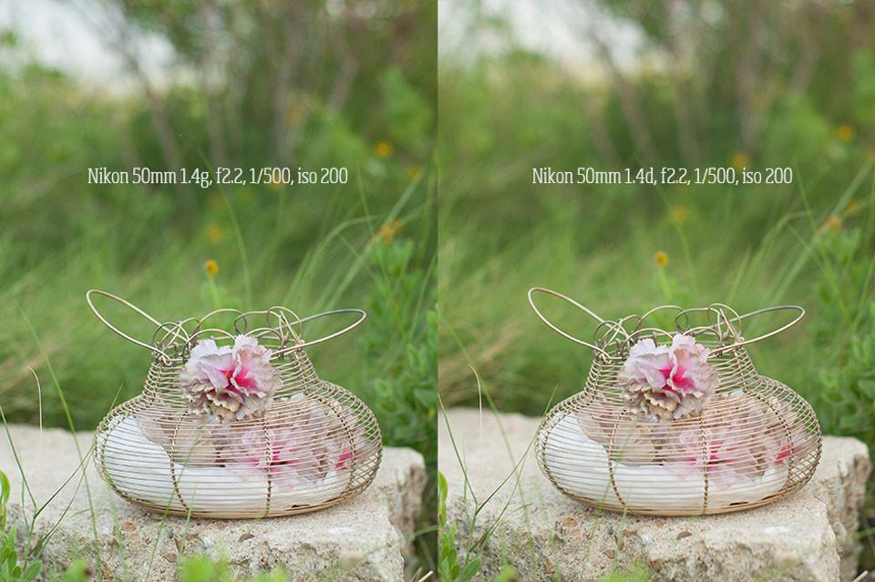 Nikon 50mm 1.4g vs. 1.4d