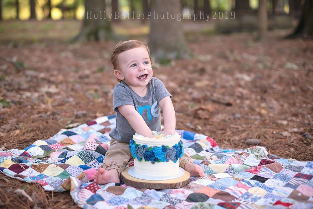 Cake Smash | Holly Butler Photography