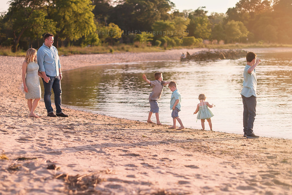 Beach Sessions in the Spring   Holly Butler Photography