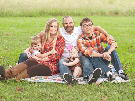 A's milestone and family session