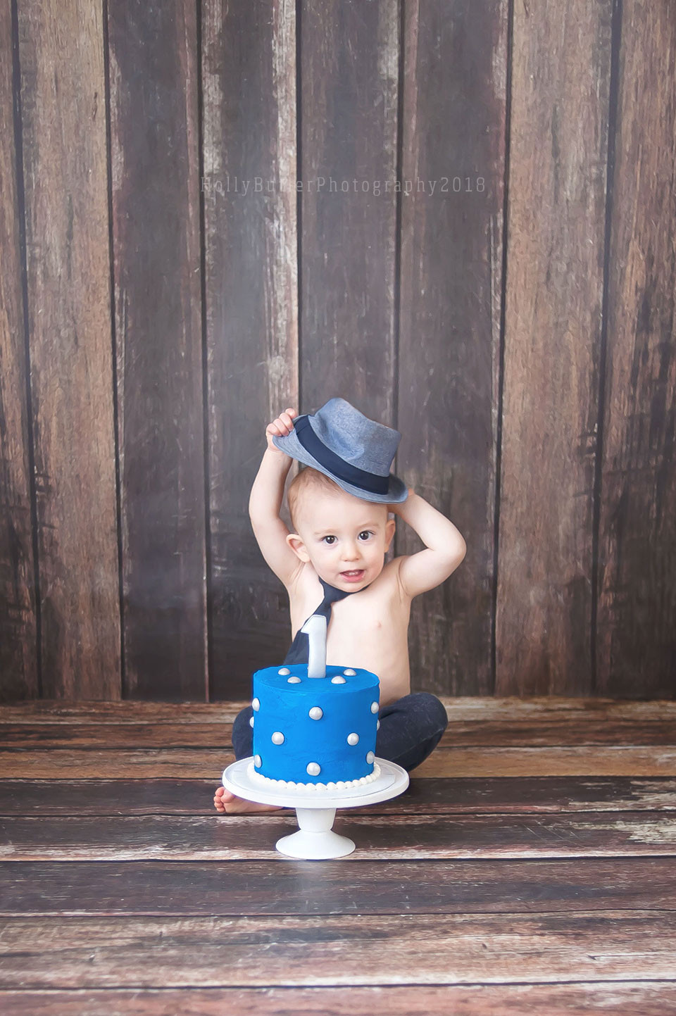Cake Smash Photography | Hampton Roads