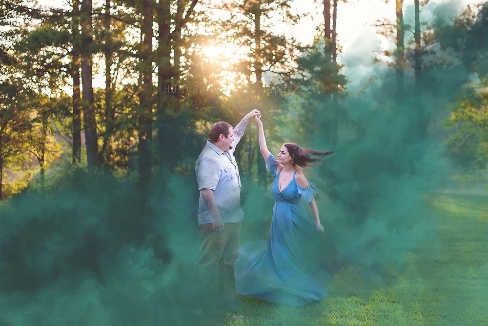 Holly Butler Photography   Smoke Bomb