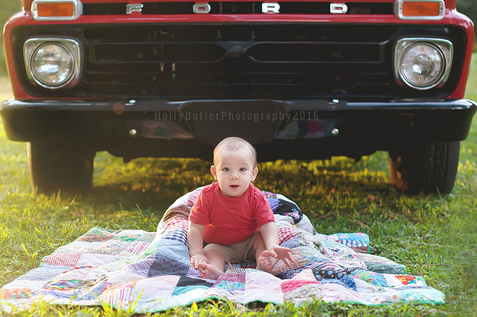 Holly Butler Photography   Vintage truck sessions