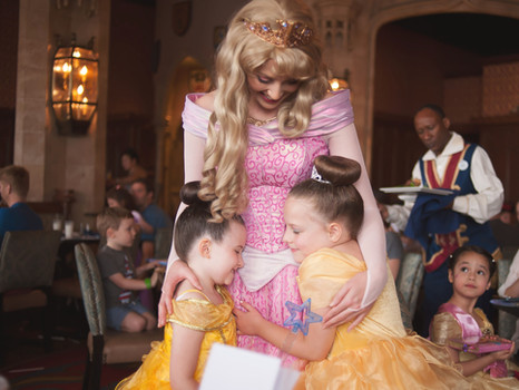 Disney World! | Lunch with Princesses