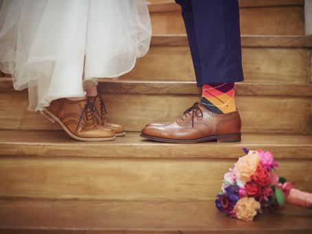 Skrócony męski ślubny poradnik obuwniczy