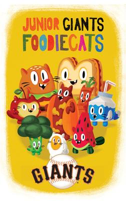 Junior Giants Foodiecats