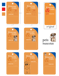 Etiquetas mascota