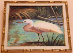 Swan Sitting