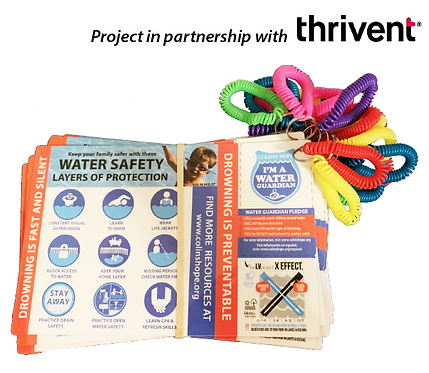 Thrivent Action Team: Water Safety Information Cards