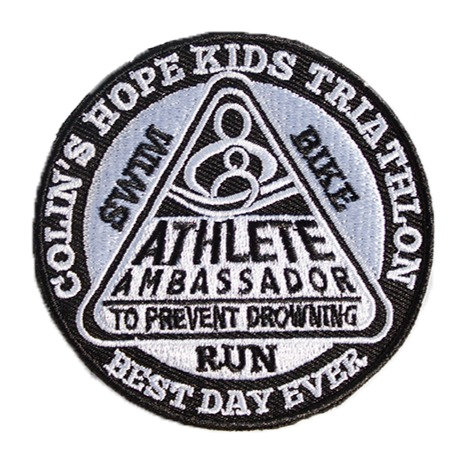 Kids Triathlete Ambassador Iron-On Patch