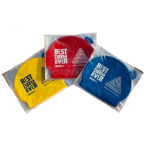 BEST DAY EVER Athlete Ambassador Swim Cap