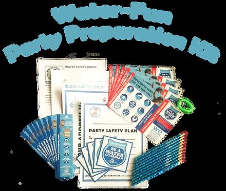 Water-Fun Party Preparation Kit