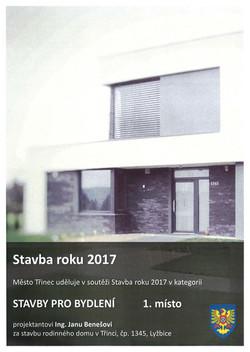 Stavba města Třince 2017,1.místo