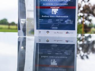 Získali jsme dvě ocenění v odborné soutěži Stavba MSK 2016