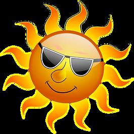 summertime-clipart-sun-wearing-sunglasse