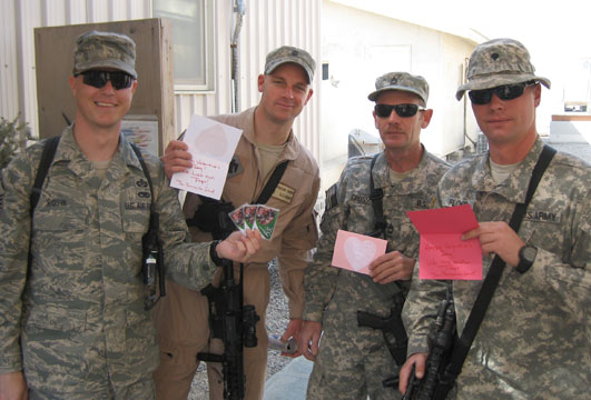 Valentines for Soldiers
