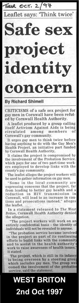 Gay Cornwall LGBT History