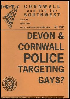 Gay History LGBT Cornwall