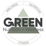 Green Nutrition & Wellness Logo (Option