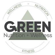 Green Nutrition & Wellness Logo (Option