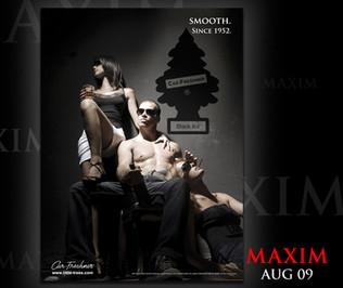 Car-Freshner® MAXIM Magazine Ad