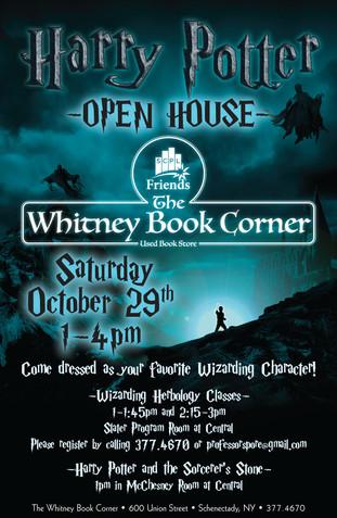 SCPL Harry Potter Program Poster