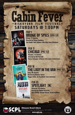 SCPL Movie Event Poster