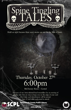 SCPL Spooky Program Poster