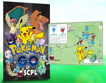 Pokémon GO Library Promotion Material