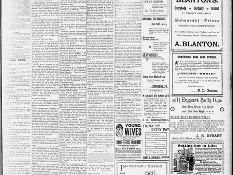 Hitting the Newspapers from this Day in 1897, #ThrowbackThursday