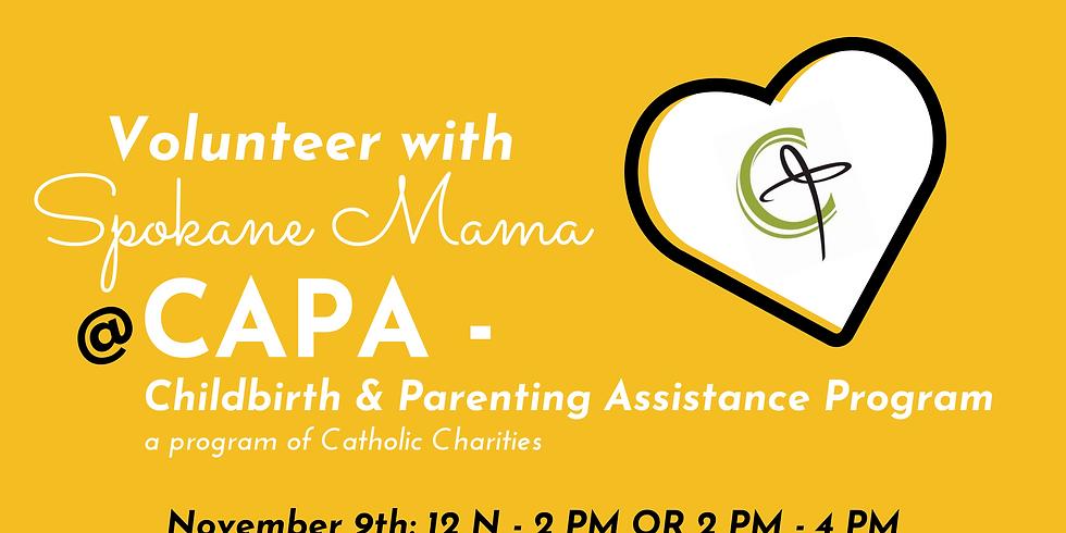 Volunteer with Spokane Mama at CAPA