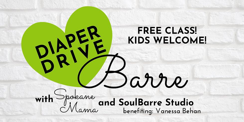 Diaper Drive Barre w/ SoulBarre Studio