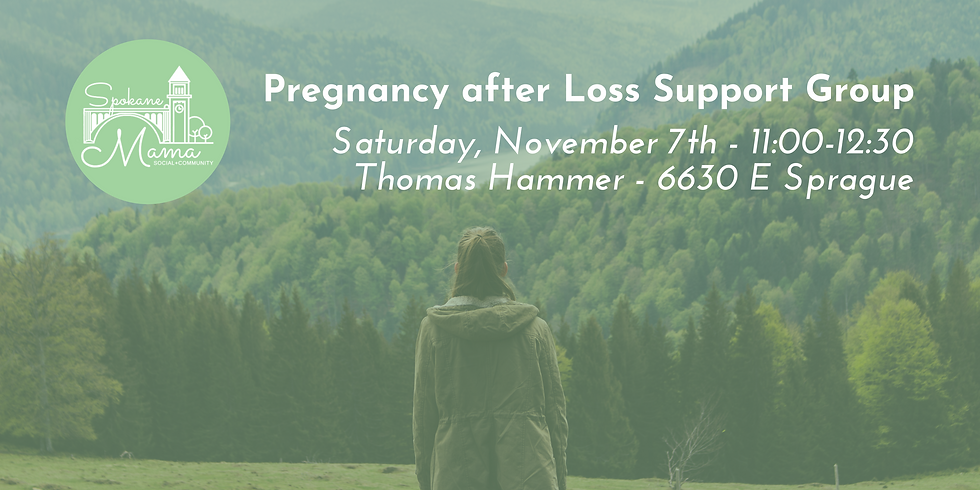 Pregnancy After Loss Support Group