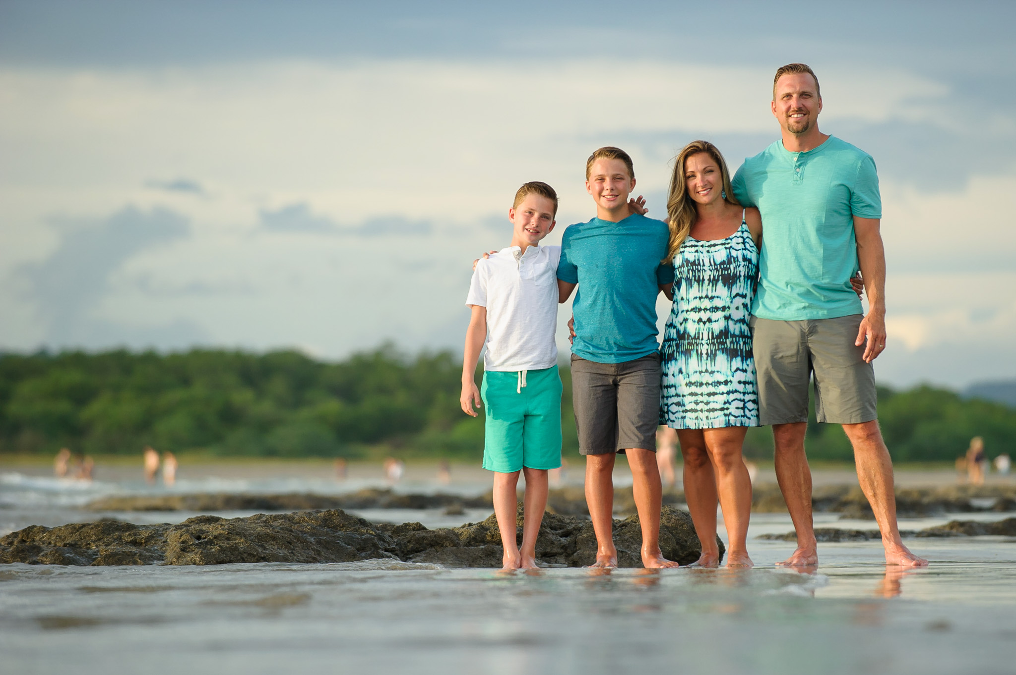 Costa rica pro family photography