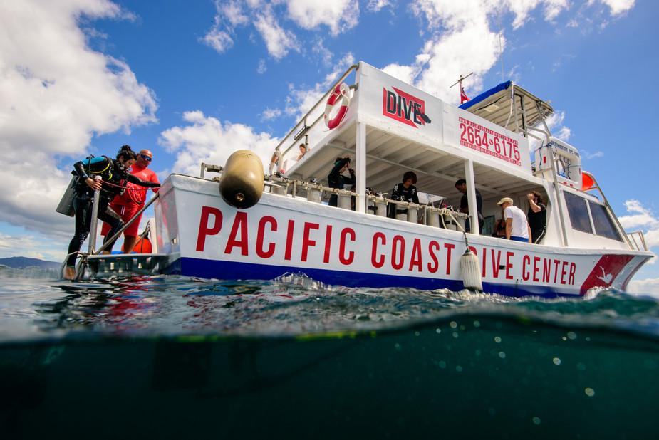 Costa Rica underwater photographer