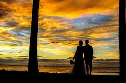 Sunset elopement Tamarindo