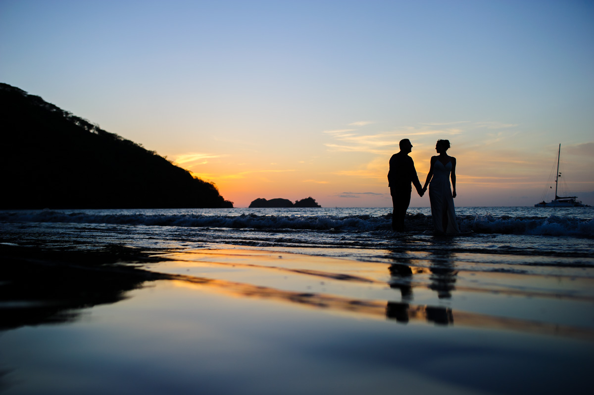 Playa Hermosa Wedding Photography