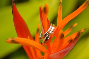 Costa Rica destination wedding details shot