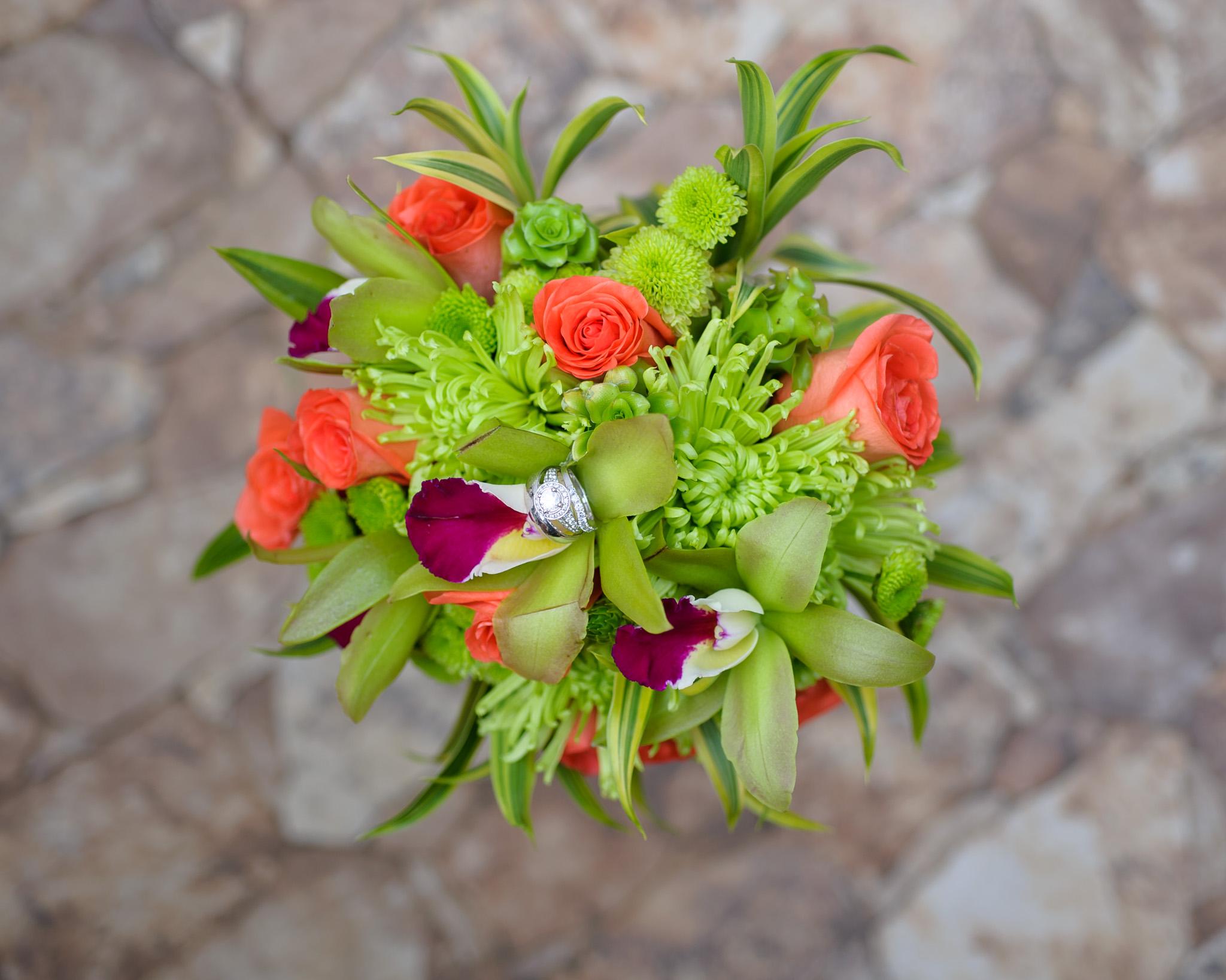 Costa Rica small wedding bouquets