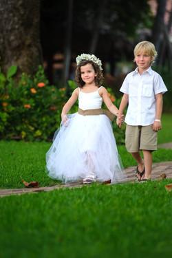 Costa Rica Wedding Flower Girl