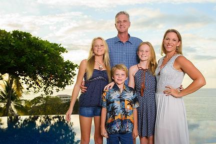 Professional Family Photos in Playa Flamingo, Costa Rica