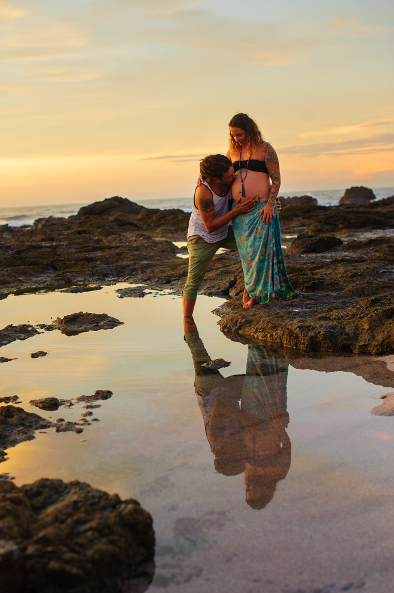 Maternity photos in Costa Rica