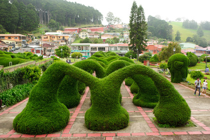 Zarcero topiary gardens, incredible unique things to do in Costa Rica