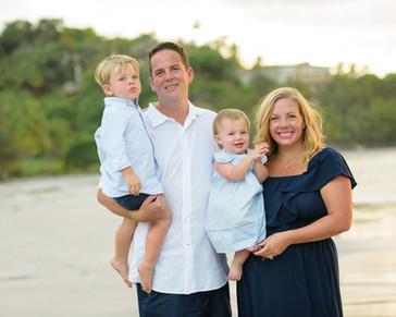 Family photos in Costa Rica
