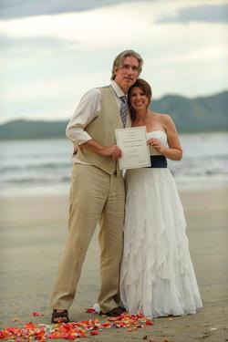 Married in Tamarindo, Costa Rica
