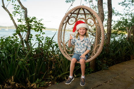 Holiday family photos in Costa Rica