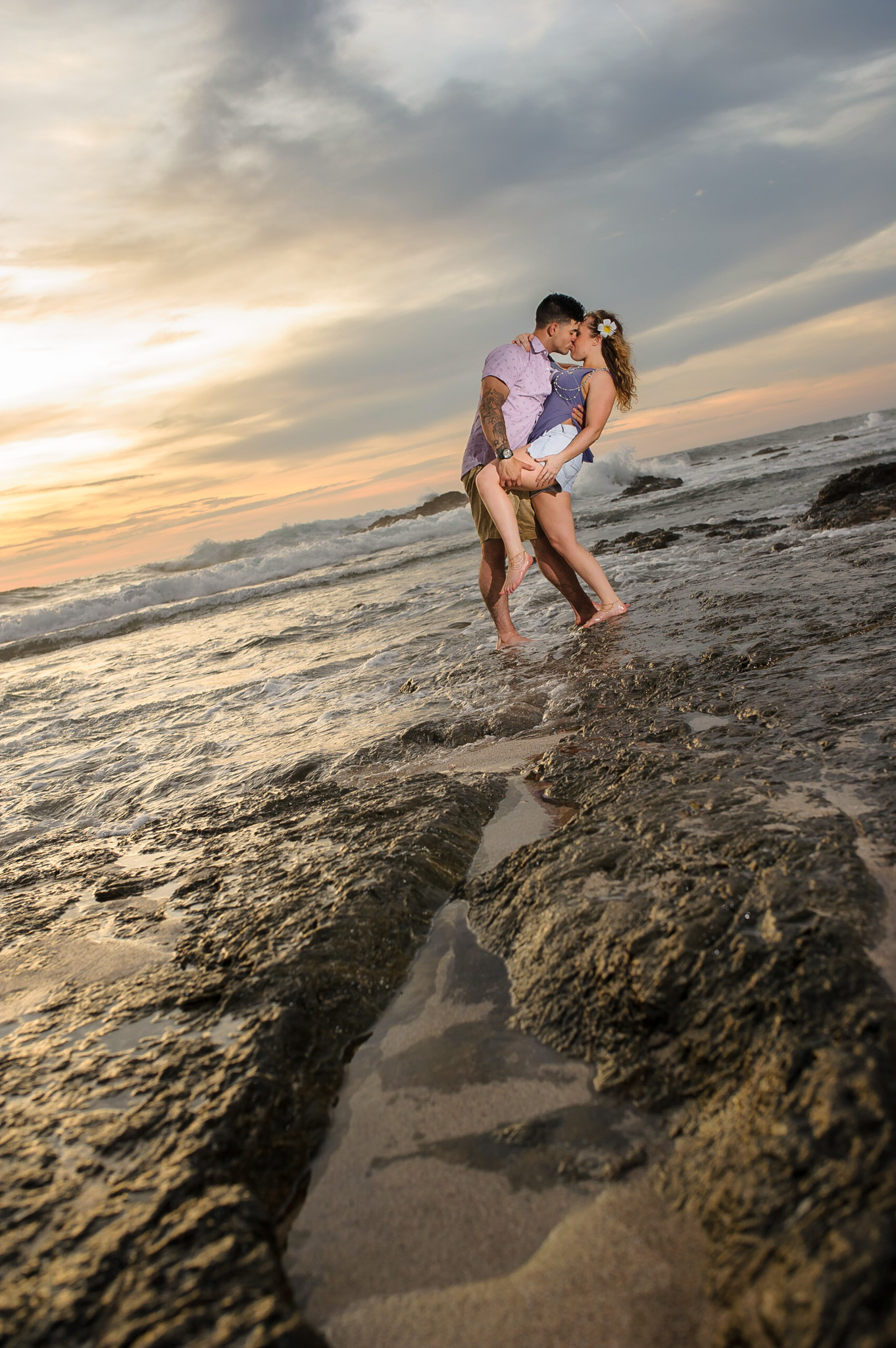 Costa Rica Couples Engagement Photography