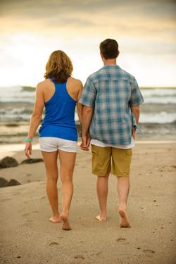 Tamarindo beach couples photographer